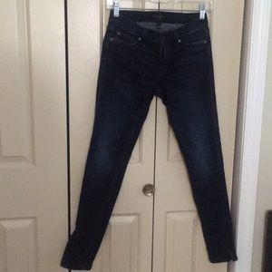 Banana Republic Blue Jeans Leggings